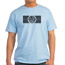T-Shirt (steel Blue Logo)