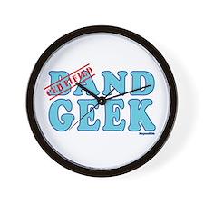 Band Geek Wall Clock