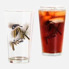 Audubon Crested Titmouse Drinking Glass