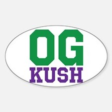 OG KUSH Sticker (Oval)