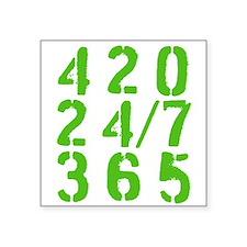 420 24/7 365 Sticker
