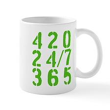 420 24/7 365 Mugs
