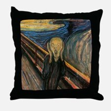 "Edvard Munch ""The Scream"" Throw Pillow"