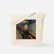 "Edvard Munch ""The Scream"" Tote Bag"