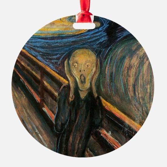 "Edvard Munch ""The Scream"" Ornament"