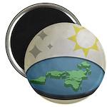 Flat Earth Society Logo Magnets
