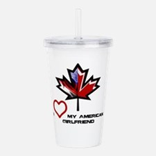 Canada-American Girlfriend.png Acrylic Double-wall