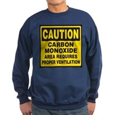 Carbon Monoxide Warning Sweatshirt