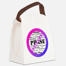 Bisexual Pride - Anti-Biphobia Canvas Lunch Bag