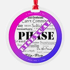 Bisexual Pride - Anti-Biphobia Ornament