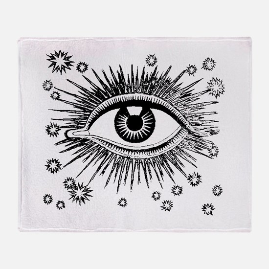 Eye Eyeball Throw Blanket
