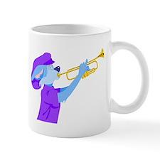 Cat Playing Trumpet Mugs