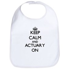 Keep Calm and Actuary ON Bib