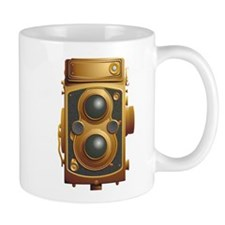 Old Steampunk Camera Mugs