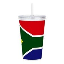 South African flag Acrylic Double-wall Tumbler