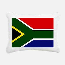 South African flag Rectangular Canvas Pillow