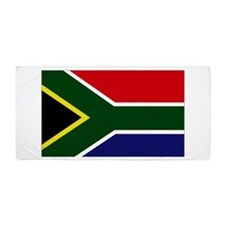 South African flag Beach Towel