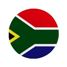 "South African flag 3.5"" Button"