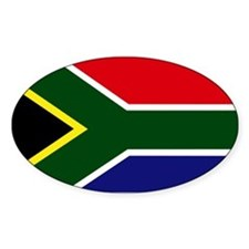 South African flag Decal