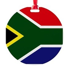 South African flag Ornament