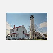 Fenwick Island Lighthouse. Rectangle Magnets