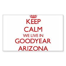 Keep calm we live in Goodyear Arizona Decal