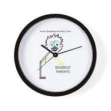 Cute Deadbeat Wall Clock