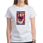 Obey the Rat Terrier -USA Women's T-Shirt