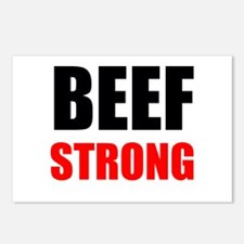 Beef Strong Postcards (Package of 8)