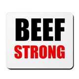 Beef Mouse Pads