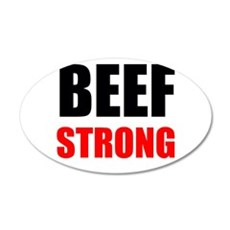 Beef Strong Wall Decal