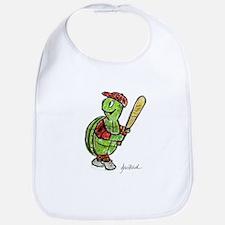 Baseball Turtle Bib