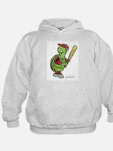 Baseball Turtle Hoodie