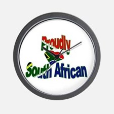 Proudly South African Wall Clock