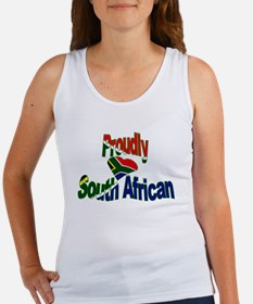Proudly South African Women's Tank Top