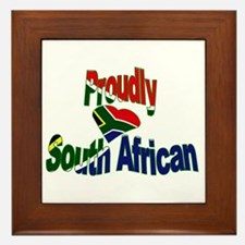 Proudly South African Framed Tile
