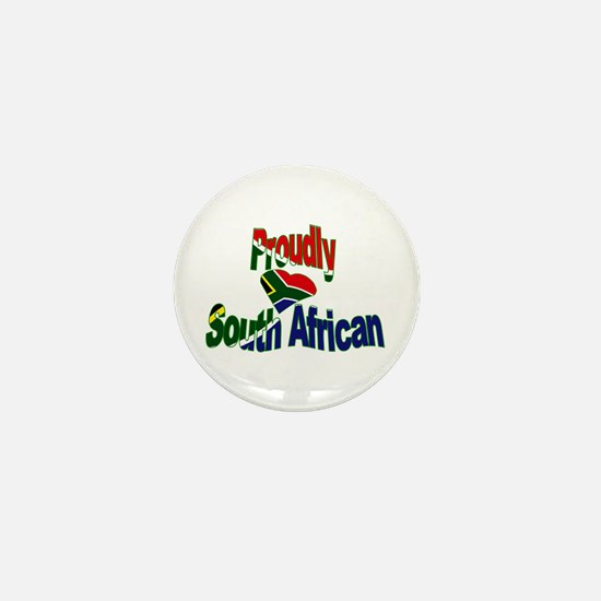 Proudly South African Mini Button