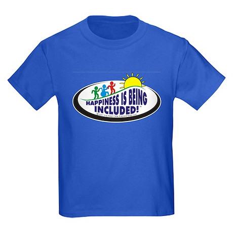 Happiness is Kids Dark T-Shirt