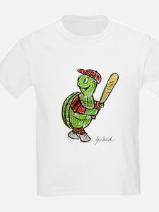 Baseball Turtle T-Shirt