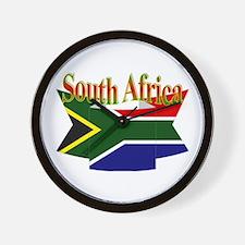 South African ribbon Wall Clock