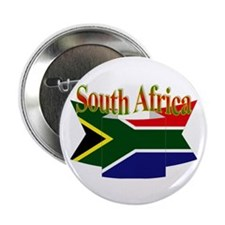 """South African ribbon 2.25"""" Button"""
