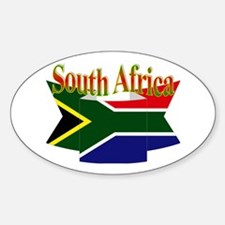 South African ribbon Decal