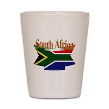 South African ribbon Shot Glass