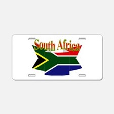 South African ribbon Aluminum License Plate