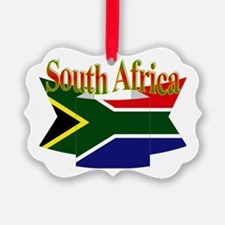 South African ribbon Ornament