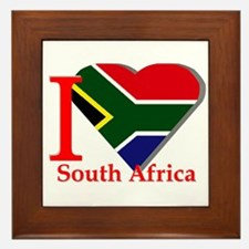 I love South Africa Framed Tile