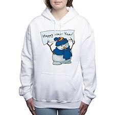 Happy New Year Women's Hooded Sweatshirt