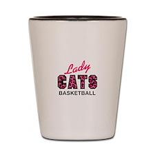 LADY CATS BASKETBALL Shot Glass