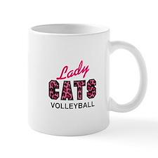 LADY CATS VOLLEYBALL Mugs