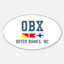 OBX Oval Decal